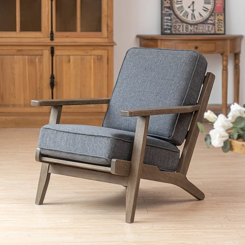 """Crestlive Products Upholstered Accent Chair Living Room Lounge Chair - 34.4"""" W*28.7"""" D*33.9"""" H"""