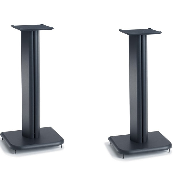 "Sanus BF24 24"" Basic Foundations Speaker Stands - Pair (Black)"