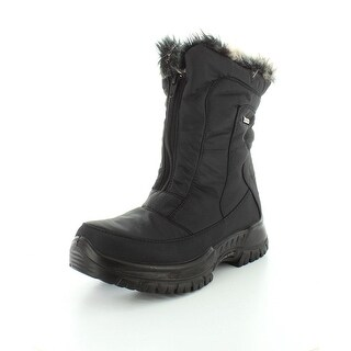 Spring Step Women's Zigzag Snow Boot - Black