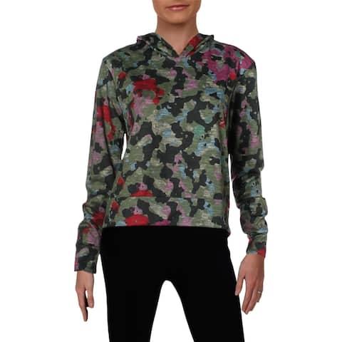 Zara Terez Womens Hoodie French Terry Camouflage - S