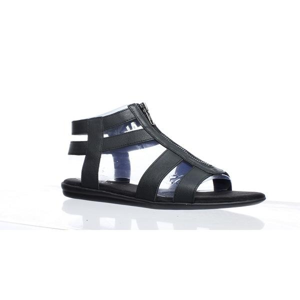 f436b955900 Shop Aerosoles Womens Encychlopedia Black Sandals Size 7.5 (C