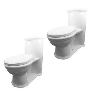 2 Child's Toilet White Round Small Toilet Set Of 2