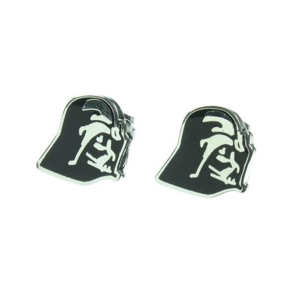 Star Wars Darth Vader Enamel Stud Earrings