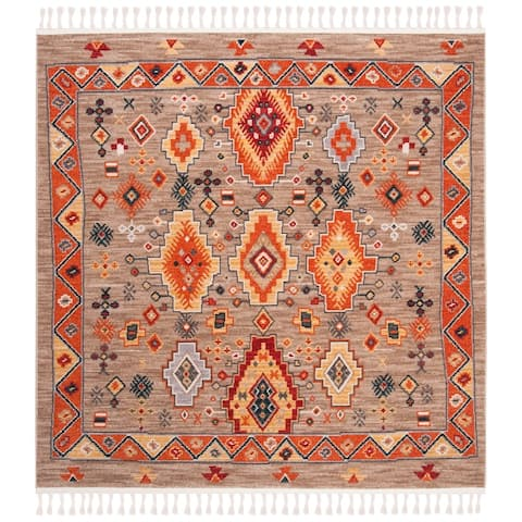 Safavieh Farmhouse Tyra Boho Tribal Polyester Rug