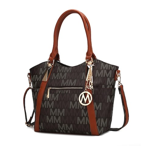 MKF Collection Jeneece M Signature Tote Bag by Mia K.