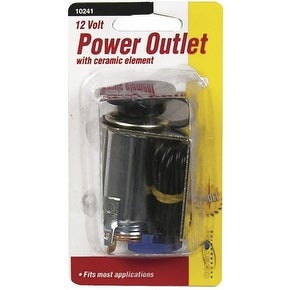 Custom Accessories 10241 Auxiliary Power Outlet, 12 V