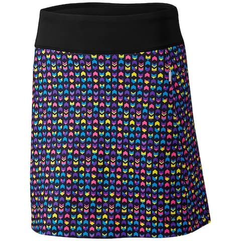 Cutter & Buck Abby Printed Pull On Skort