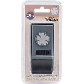 Sizzix Medium Paper Punch By Tim Holtz-Spiky Floral