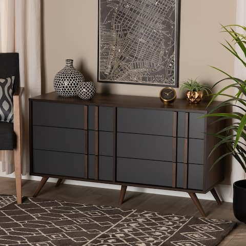 Naoki Modern and Contemporary 6-drawer Bedroom Dresser