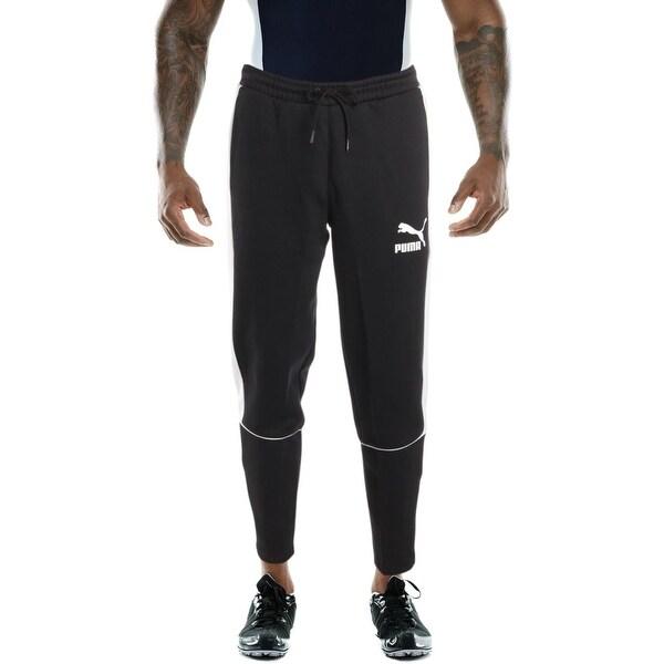cfcee0ab332d Shop Puma Mens Retro Pants dk Athletic Pants Regular Fit Athleisure ...