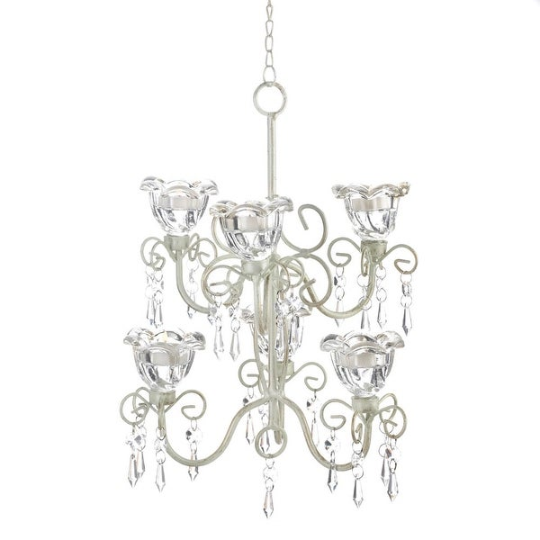 Newly Crystal Blooms Double Chandelier