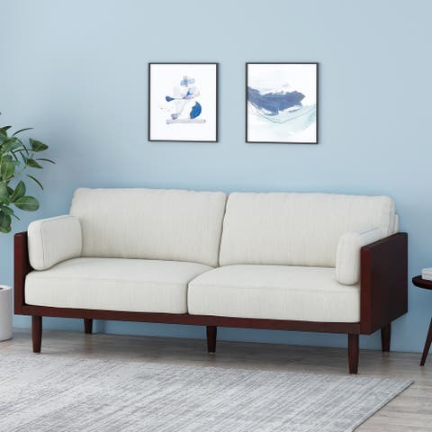 Sofia Upholstered 3 Seater Sofa by Christopher Knight Home