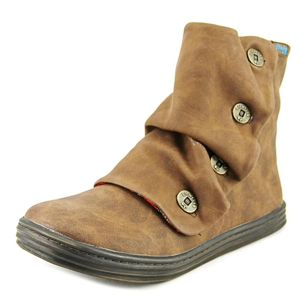 Blowfish Rabbit Women Round Toe Synthetic Brown Boot