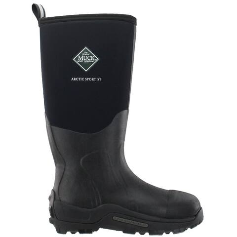 Muck Boot Arctic Sport Pull On Mens Boots Knee High - Black