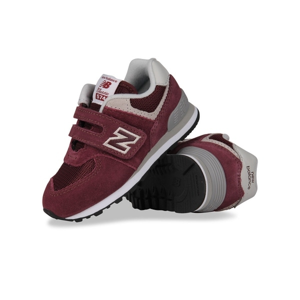 Shop New Balance Baby IV574GB Suede Buckle Sneakers - 2 M US infant ...