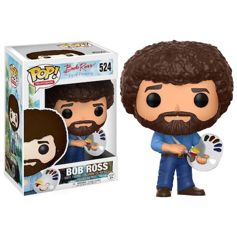Funko POP Television Bob Ross Toy Action Figure