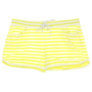 Tommy Hilfiger Womens Striped Leisure Casual Shorts - XL