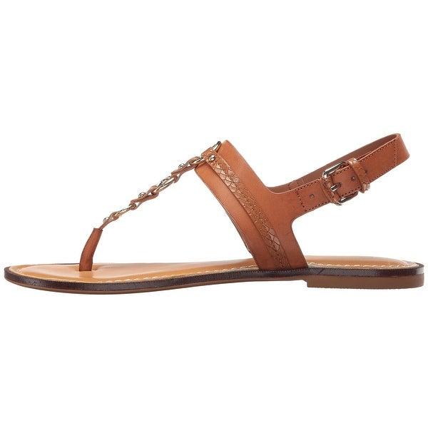 Aldo Womens Edden Split Toe Casual Slingback Sandals, Cognac, Size 9.0 - 9