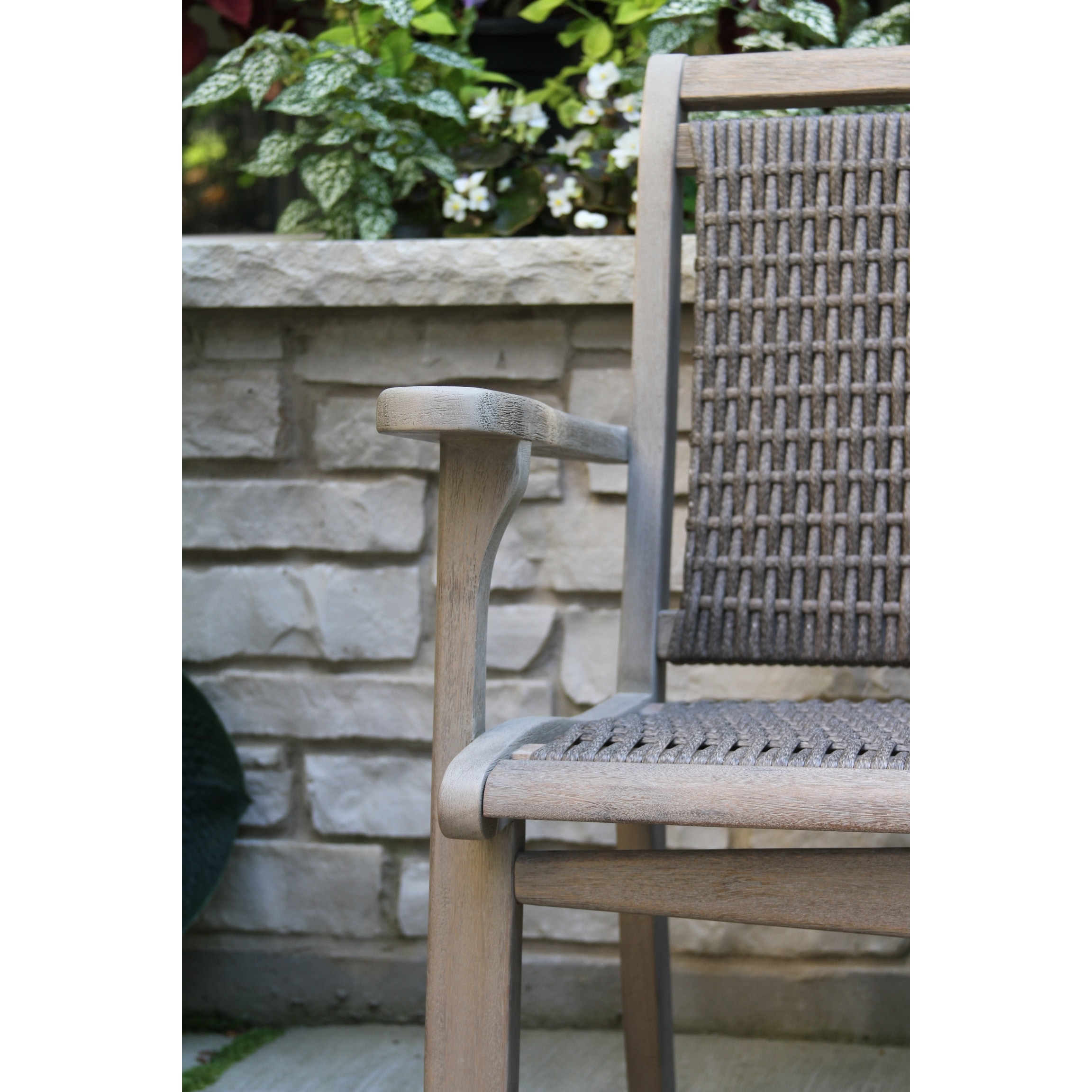 Contessa Grey Wash Eucalyptus Wicker Bench Overstock 32201022