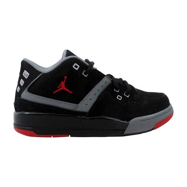University Pleated Mediterranean Sea  Shop Nike Pre-School Air Jordan Flight 23 BP Black/Gym Red-Cool Grey-White  317822-021 - Overstock - 27731257
