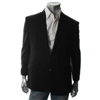 Calvin Klein Mens Wool Slim Fit Two-Button Suit Jacket - 40R