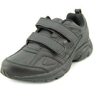 Fila Capture 2 Strap Men Round Toe Leather Black Sneakers