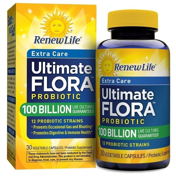 Renew Life Ultimate Flora Extra Care 100 Billion - 30 Capsules