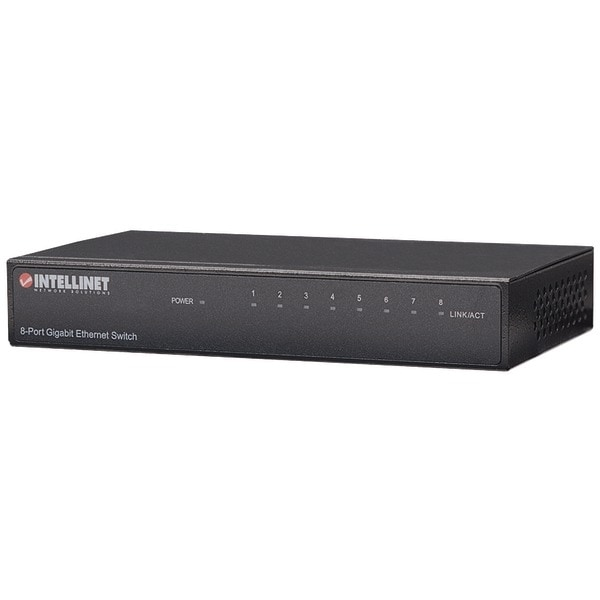 Intellinet 530347 8-Port Gigabit Desktop Ethernet Switch