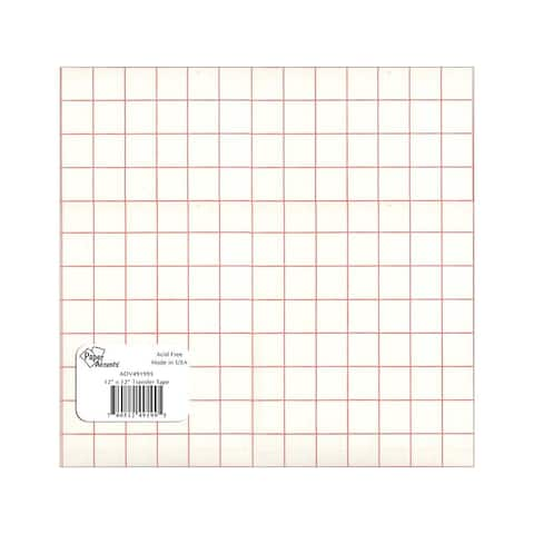 Vin1212 ttu vinyl 12x12 removable adh transfer tape upc