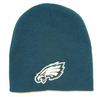 Philadelphia Eagles Cuffless Knit Beanie Cap - Green