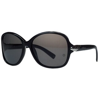 Montblanc MB412/S 01A Black Square Sunglasses - 59-16-125