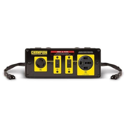 Champion 100319 50A Rv Ready Clip-On Parallel Kit for Linking Inverter Generators 2800 watt