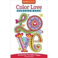 Color Love Coloring Book - Design Originals