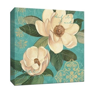 """PTM Images 9-153217  PTM Canvas Collection 12"""" x 12"""" - """"Southern Beauty I"""" Giclee Flowers Art Print on Canvas"""