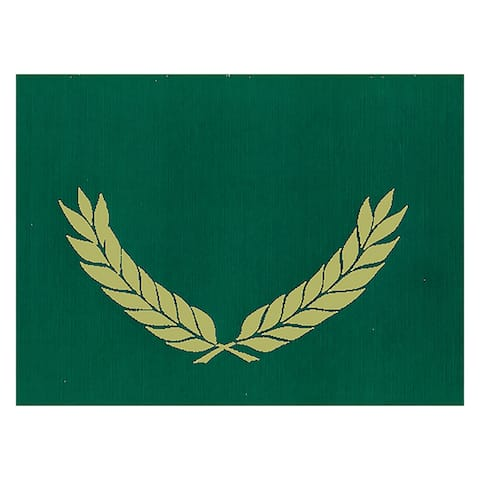 Embossed Certificate Folders Green