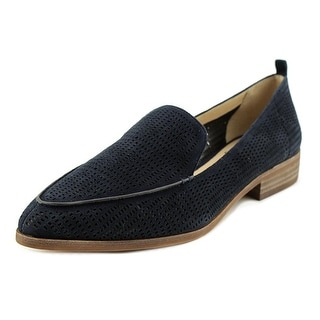 Vince Camuto Kade Women  Pointed Toe Leather Blue Loafer