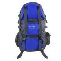 FreeKnight Authorized Traveling Nylon Trekking Military Hiking Backpack Blue