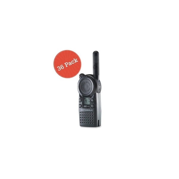 Motorola CLS1410 36 Pack 2-Way Radio / 5 Mile Range