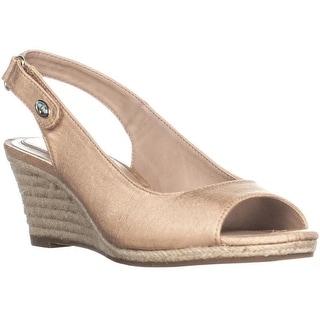Charter Club Womens Samiee Peep Toe Casual Espadrille Sandals