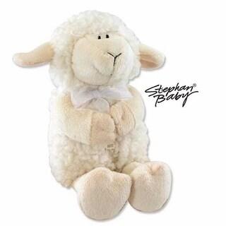 Stephan Baby 63315 Toy Plush Musical Lamb Jesus Loves Me 11 In. White