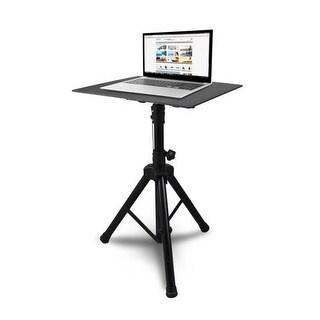 Universal Laptop Notebook Computer DJ Equipment Studio Stand Mount Holder, Height Adjustable