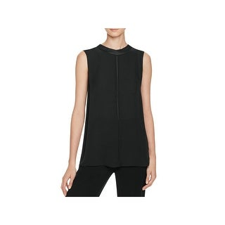 Vince Womens Shell Silk Sequined