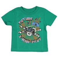 Star Wars Baby Boys' Future X-Wing Pilot Licensed T-Shirt