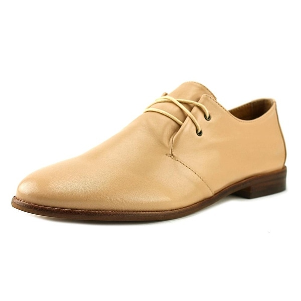 Corso Como Galaxy Women Round Toe Leather Nude Oxford