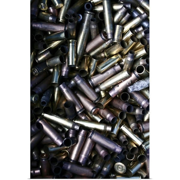 """""""The casing of bullets"""" Poster Print"""