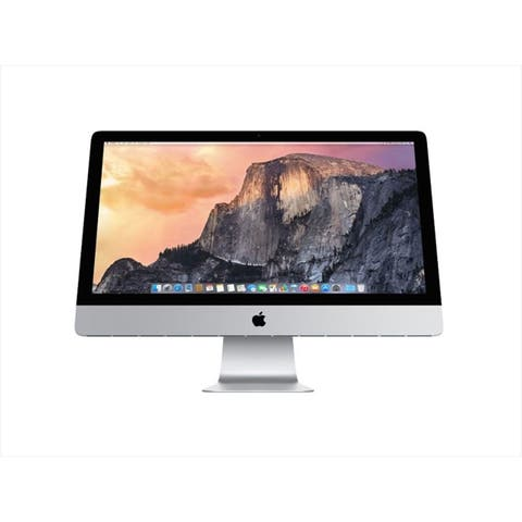 "Apple MC814LL/A 27"" Intel Core i5-2400 X4 3.1GHz 8GB 1TB, Silver (Certified Refurbished)"