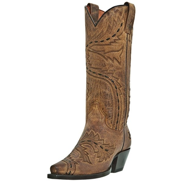 097b68eee33 Shop Dan Post Fashion Boots Womens Sidewinder Leather Mad Cat Tan - Free  Shipping Today - Overstock - 26859210
