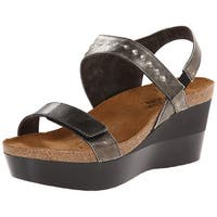 Naot Womens Prodigy Open Toe Special Occasion Platform Sandals - 10.5