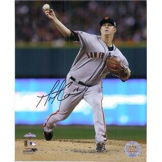 Signed Cain Matt San Francisco Giants 8x10 Photo autographed