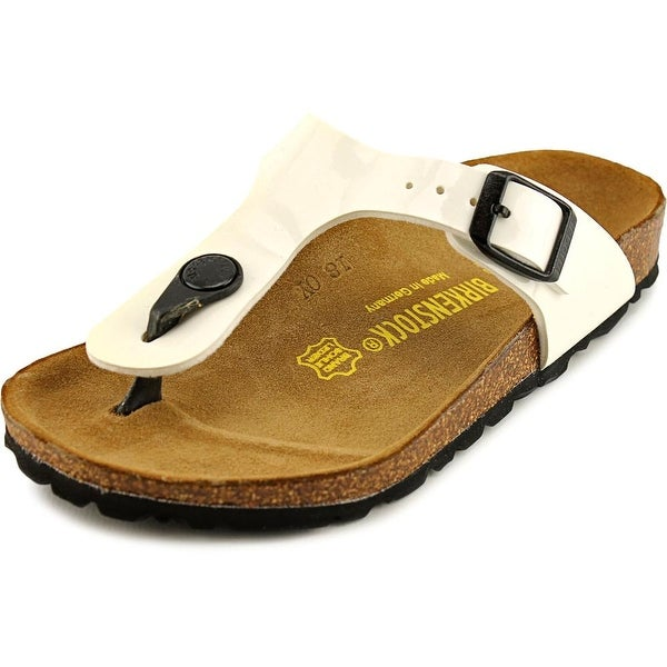 Birkenstock Gizeh Youth N Open Toe Synthetic White Thong Sandal